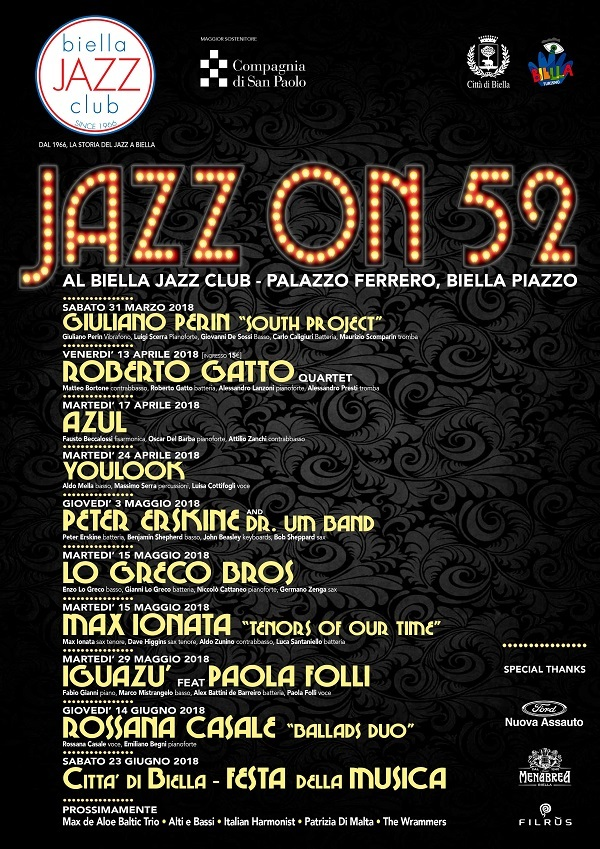 Biella Jazz On Programma